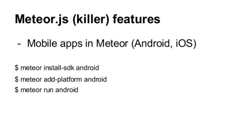 Build Android APK with MeteorJS Guide